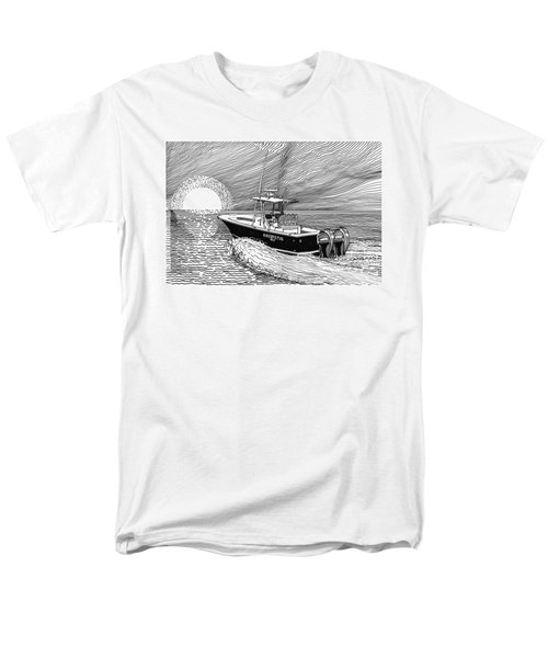 Sunrise fishing T-Shirt by Jack Pumphrey