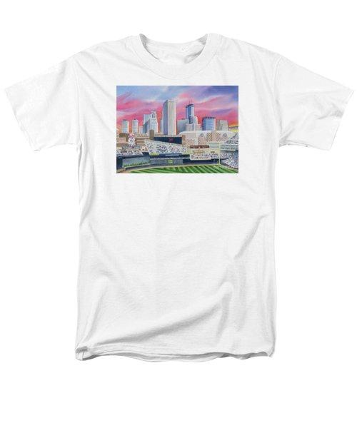 Target Field T-Shirt by Deborah Ronglien