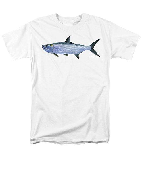 Tarpon Men's T-Shirt  (Regular Fit) by Carey Chen