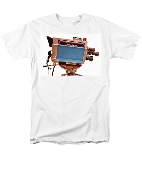 Television Studio Camera HDR T-Shirt by Edward Fielding