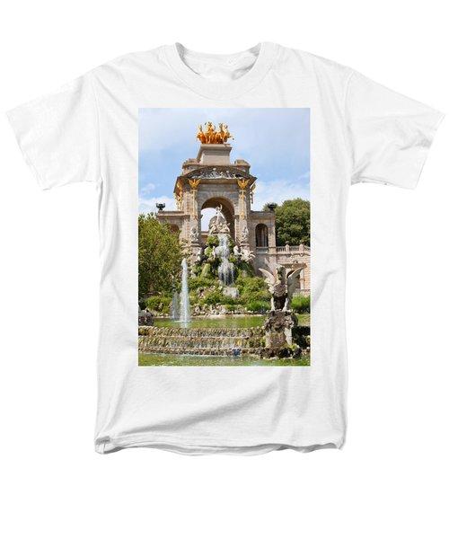 The Cascada in Parc de la Ciutadella in Barcelona T-Shirt by Artur Bogacki