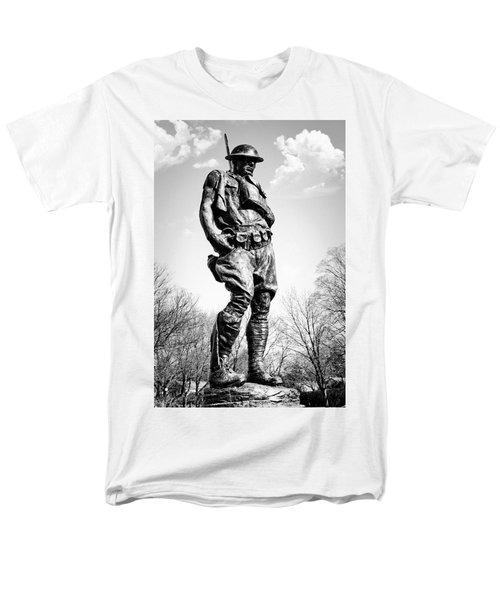 The Doughboy - Tribute to the American Expeditionary Forces of World War 1 T-Shirt by Gary Heller
