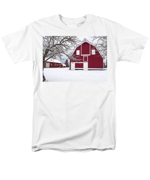 The Red Barn T-Shirt by Fran Riley