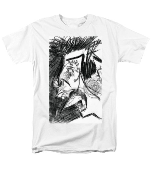 The Scream - Picasso Study T-Shirt by Michelle Calkins