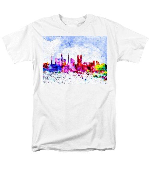 Tokyo Watercolor Men's T-Shirt  (Regular Fit) by Daniel Janda