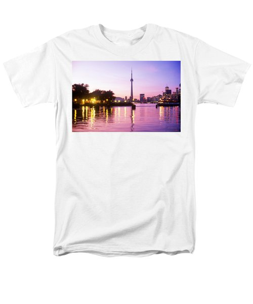 Toronto Skyline At Sunset, Toronto T-Shirt by Peter Mintz