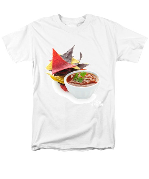 Tortilla chips and salsa T-Shirt by Elena Elisseeva