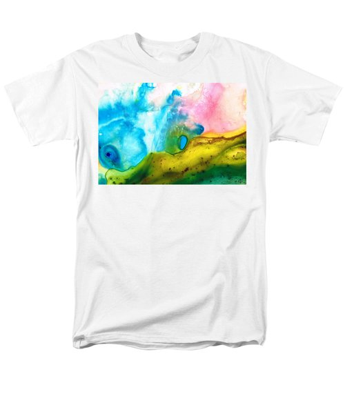 Transformation - Abstract Art By Sharon Cummings T-Shirt by Sharon Cummings
