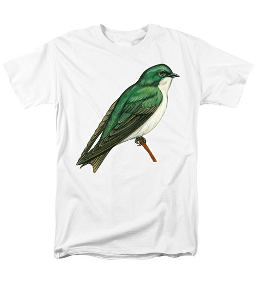 Tree Swallow  Men's T-Shirt  (Regular Fit) by Anonymous