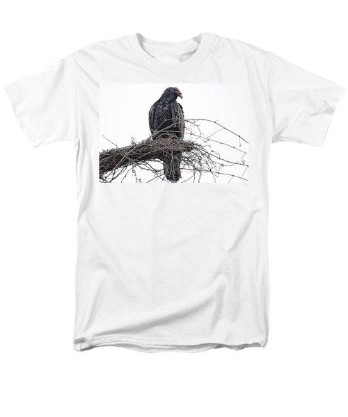 Turkey Vulture Men's T-Shirt  (Regular Fit) by Douglas Barnard