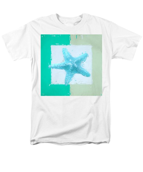 Turquoise Seashells XIII T-Shirt by Lourry Legarde