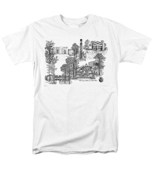 University Of Arkansas Men's T-Shirt  (Regular Fit) by Liz  Bryant