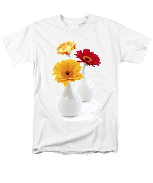 Vases with Gerbera flowers T-Shirt by Elena Elisseeva