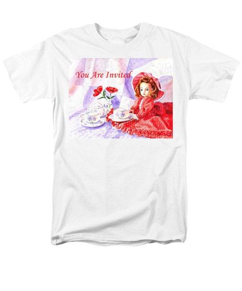 Vintage Invitation T-Shirt by Irina Sztukowski