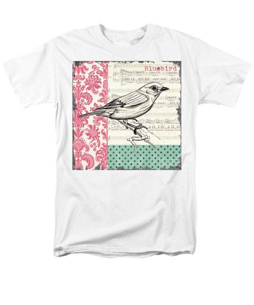 Vintage Songbird 1 T-Shirt by Debbie DeWitt