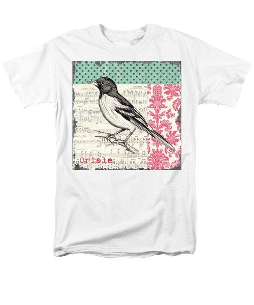 Vintage Songbird 2 T-Shirt by Debbie DeWitt