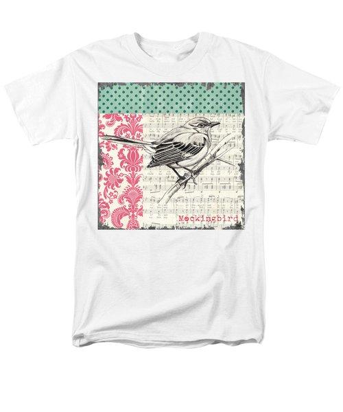 Vintage Songbird 4 T-Shirt by Debbie DeWitt