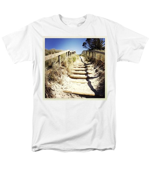Walkway T-Shirt by Les Cunliffe