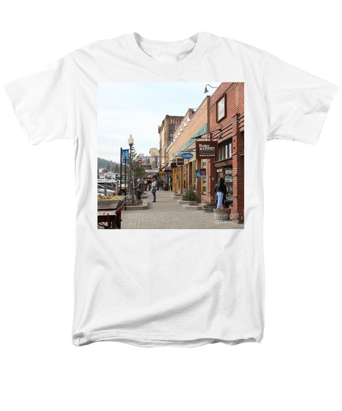 Welcome To Truckee California 5D27445 square T-Shirt by Wingsdomain Art and Photography