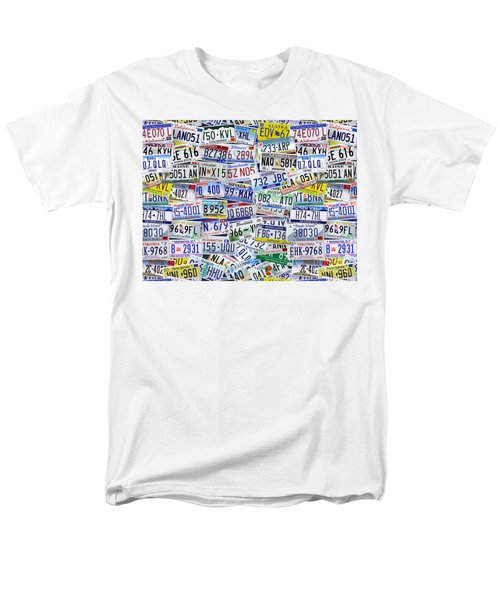 What's Your License? T-Shirt by Bedros Awak