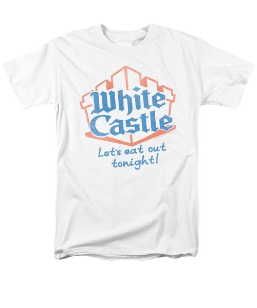 White Castle - Lets Eat Men's T-Shirt  (Regular Fit) by Brand A