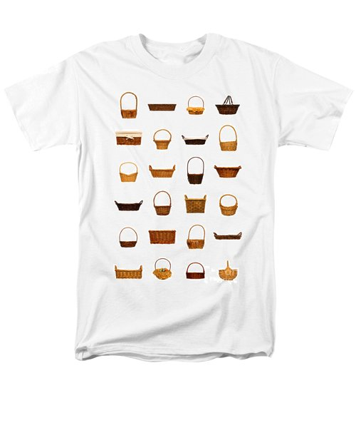 Wicker Basket Collection T-Shirt by Olivier Le Queinec