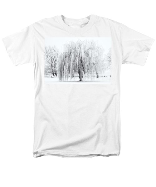 Winter Willow T-Shirt by Mike  Dawson