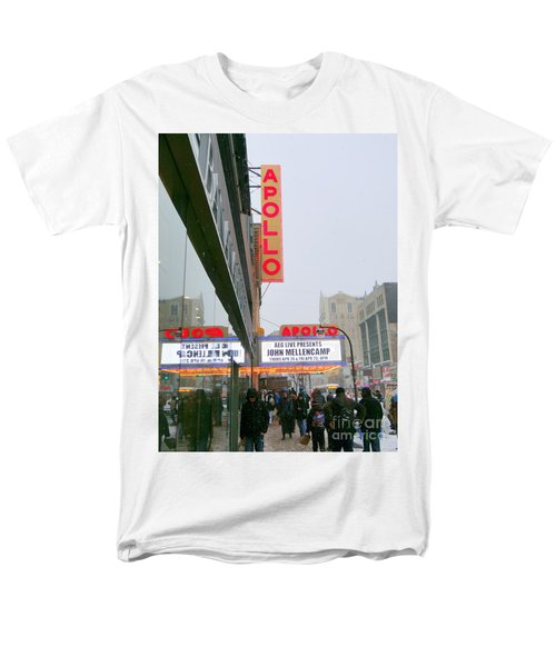 Wintry Day At The Apollo Men's T-Shirt  (Regular Fit) by Ed Weidman