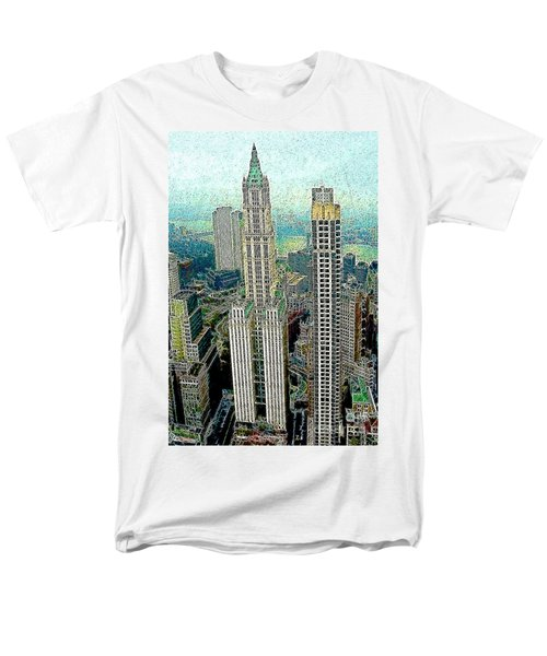 Woolworth Building New York City 20130427 T-Shirt by Wingsdomain Art and Photography