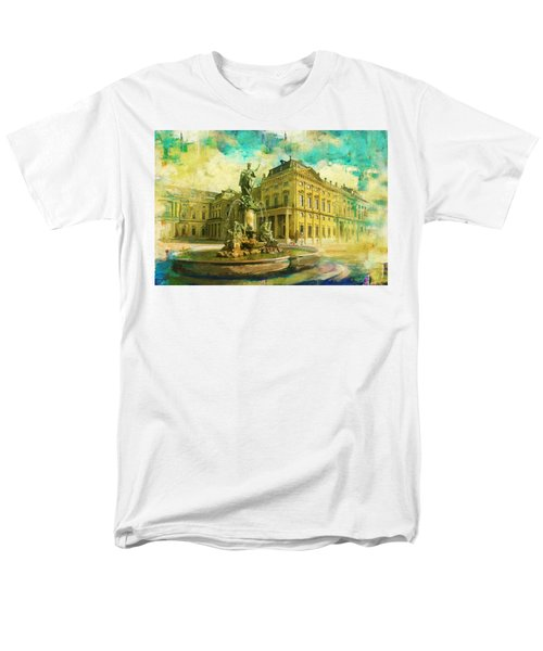 Wurzburg Residence with the Court Gardens and Residence Square T-Shirt by Catf