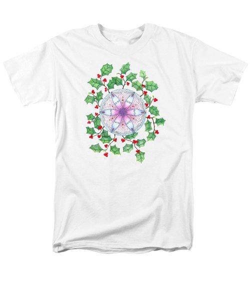 X'mas Wreath T-Shirt by Keiko Katsuta