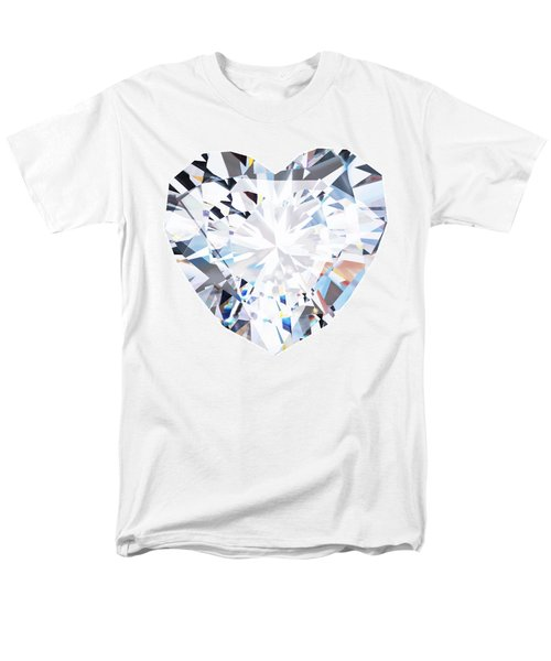 heart diamond  T-Shirt by Setsiri Silapasuwanchai