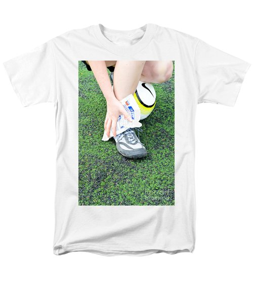 Injured Ankle T-Shirt by Photo Researchers