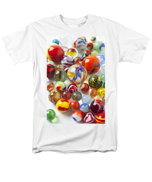 Many beautiful marbles T-Shirt by Garry Gay