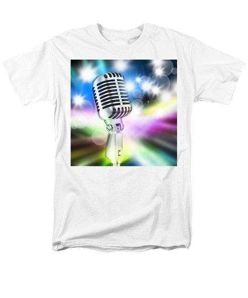 microphone on stage T-Shirt by Setsiri Silapasuwanchai