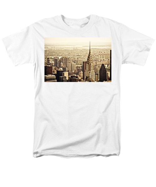 New York City  Men's T-Shirt  (Regular Fit) by Vivienne Gucwa