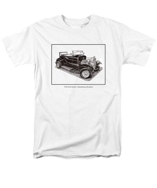 1930 Ford Model A Roadster T-Shirt by Jack Pumphrey