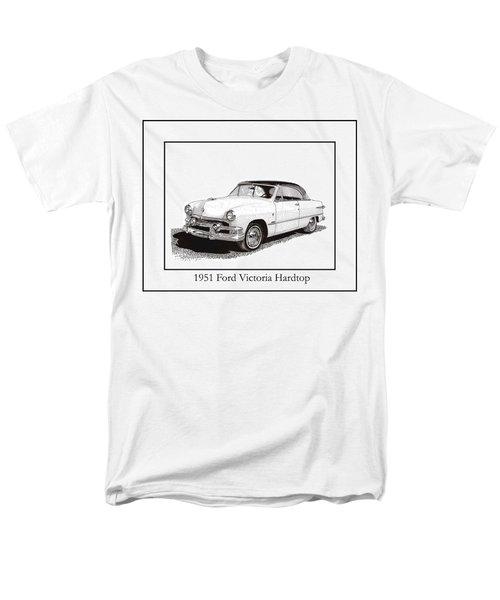 1951 Ford Victoria Hardtop T-Shirt by Jack Pumphrey