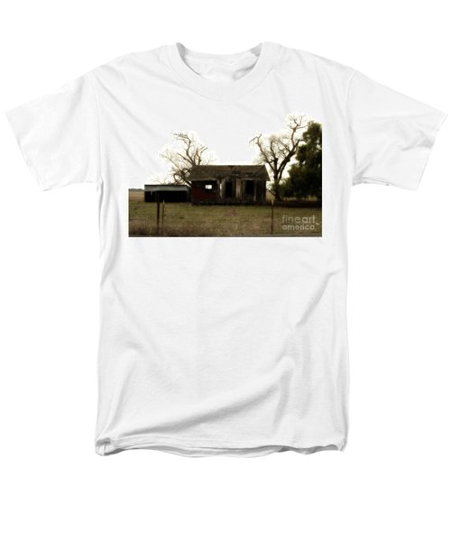 Dilapidated Old Farm House . 7D10341 T-Shirt by Wingsdomain Art and Photography