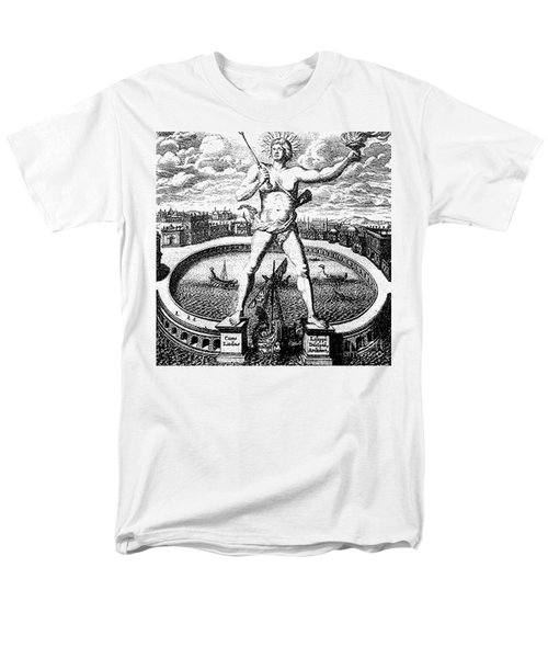 7 Wonders Of The World, Colossus T-Shirt by Photo Researchers