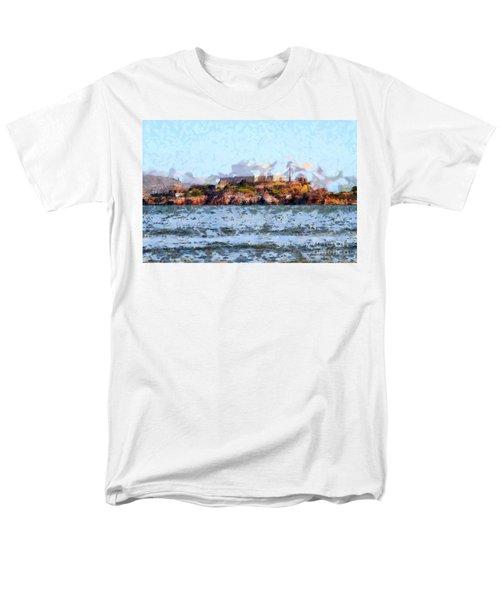 Alcatraz Island in San Francisco California . 7D14031 T-Shirt by Wingsdomain Art and Photography