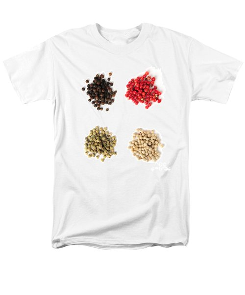 Assorted peppercorns T-Shirt by Elena Elisseeva