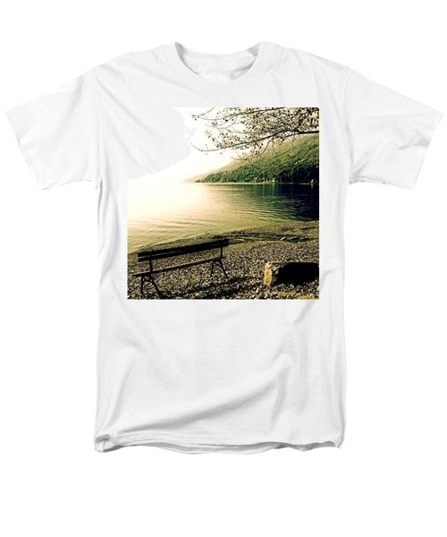 bench in autumn T-Shirt by Joana Kruse