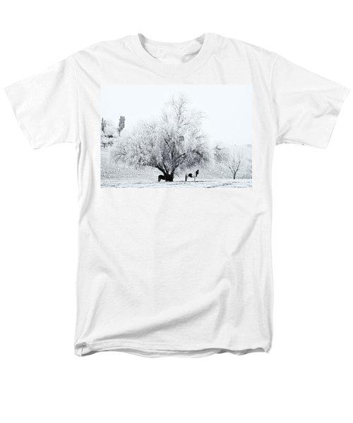 Beneath a Frosty Canopy T-Shirt by Mike  Dawson
