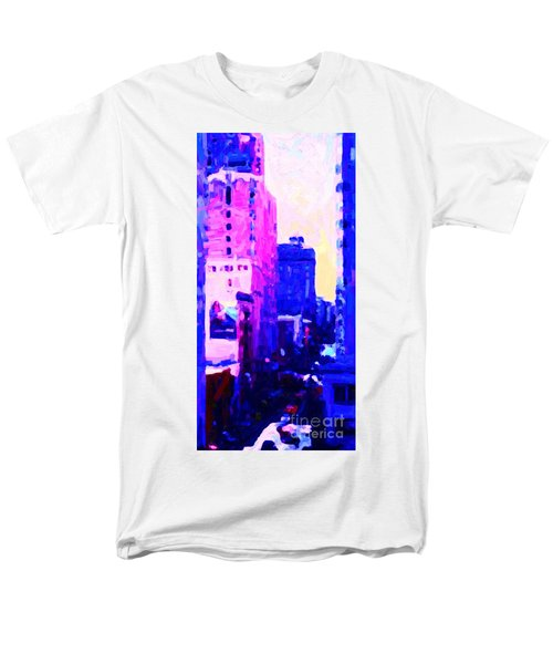 Big City Blues T-Shirt by Wingsdomain Art and Photography