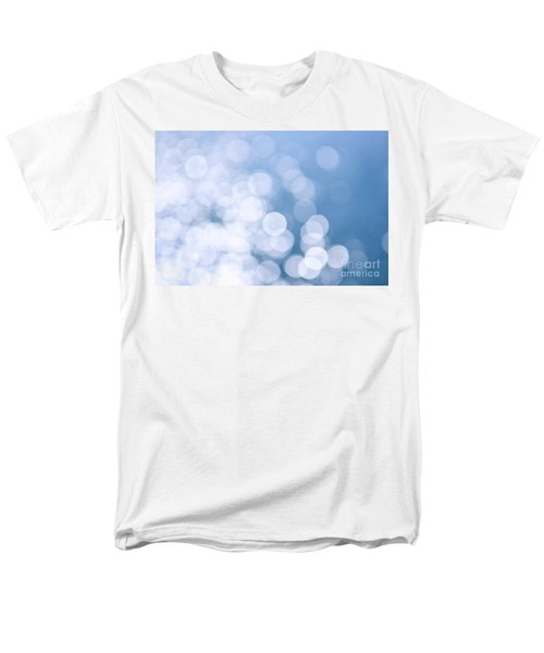 Blue water and sunshine abstract T-Shirt by Elena Elisseeva