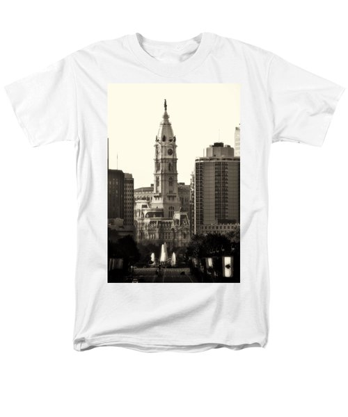 City Hall from the Parkway - Philadelphia T-Shirt by Bill Cannon