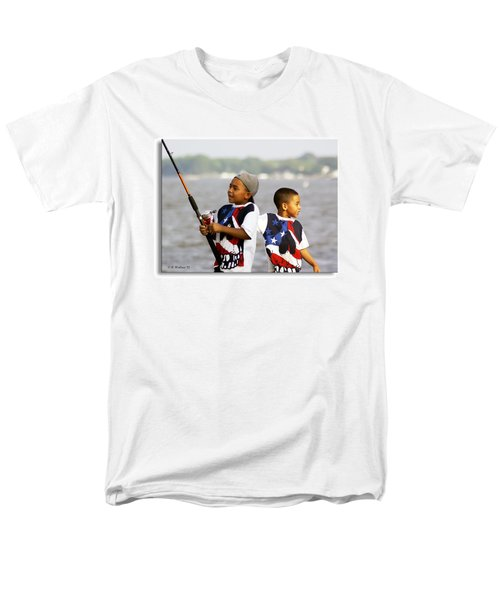 Fishing Brothers T-Shirt by Brian Wallace