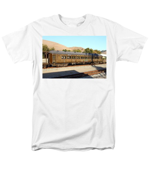 Historic Niles Trains in California . Old Western Pacific Passenger Train . 7D10836 T-Shirt by Wingsdomain Art and Photography