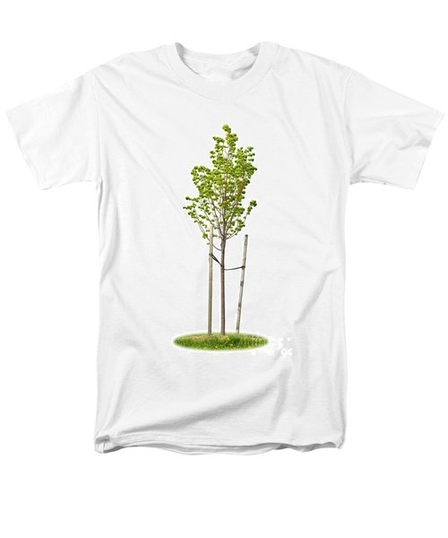 Isolated young linden tree T-Shirt by Elena Elisseeva